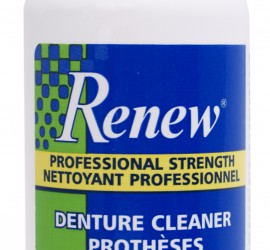 Denture Cleaner, Denture Cleanser, Renew Denture Cleaner